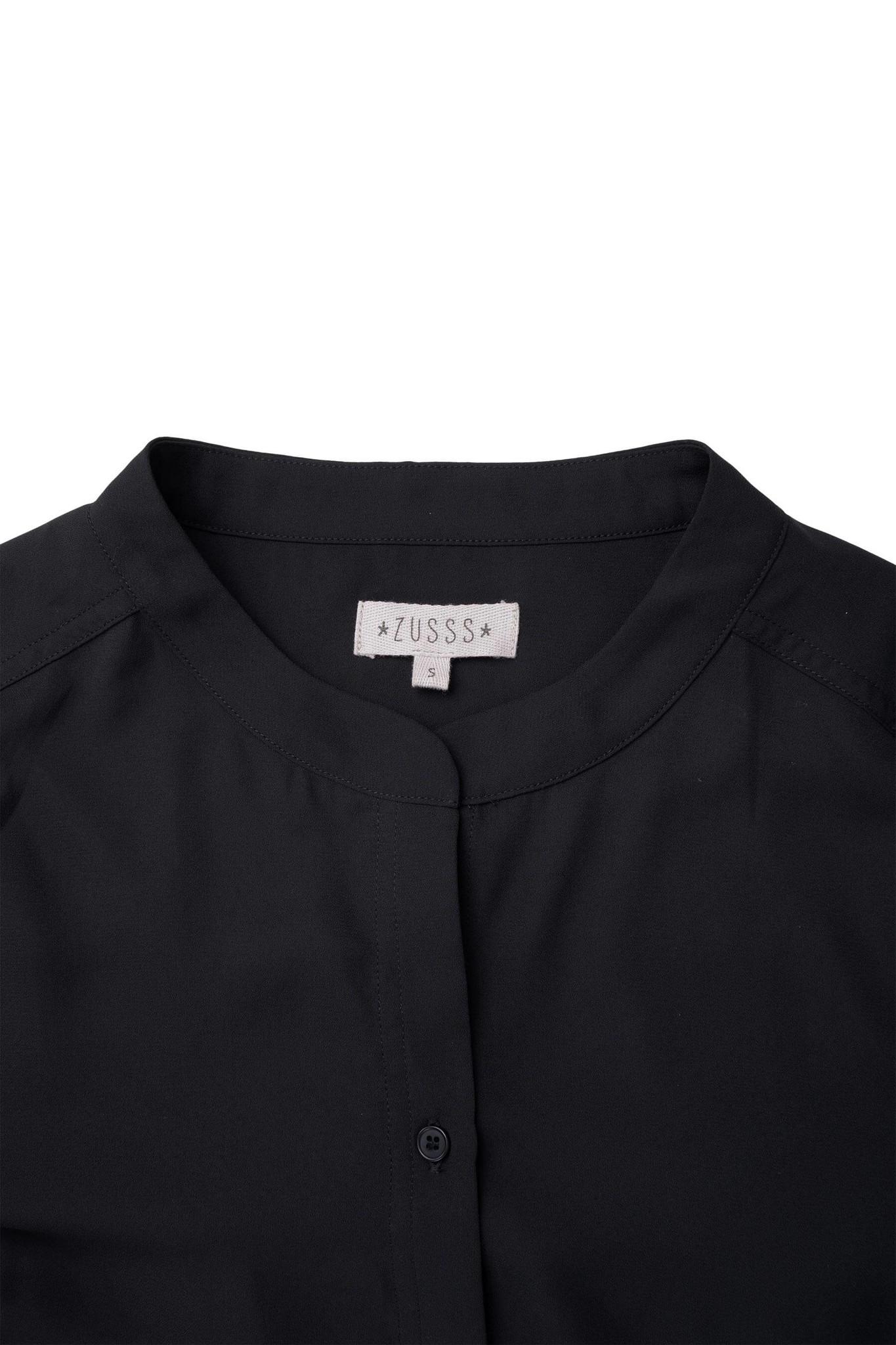 Zusss leuke lange jurk - zwart