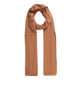 Zusss fijngebreide zachte sjaal - honing