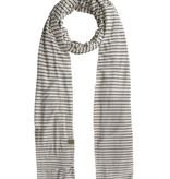 Zusss gesteepte sjaal - zand