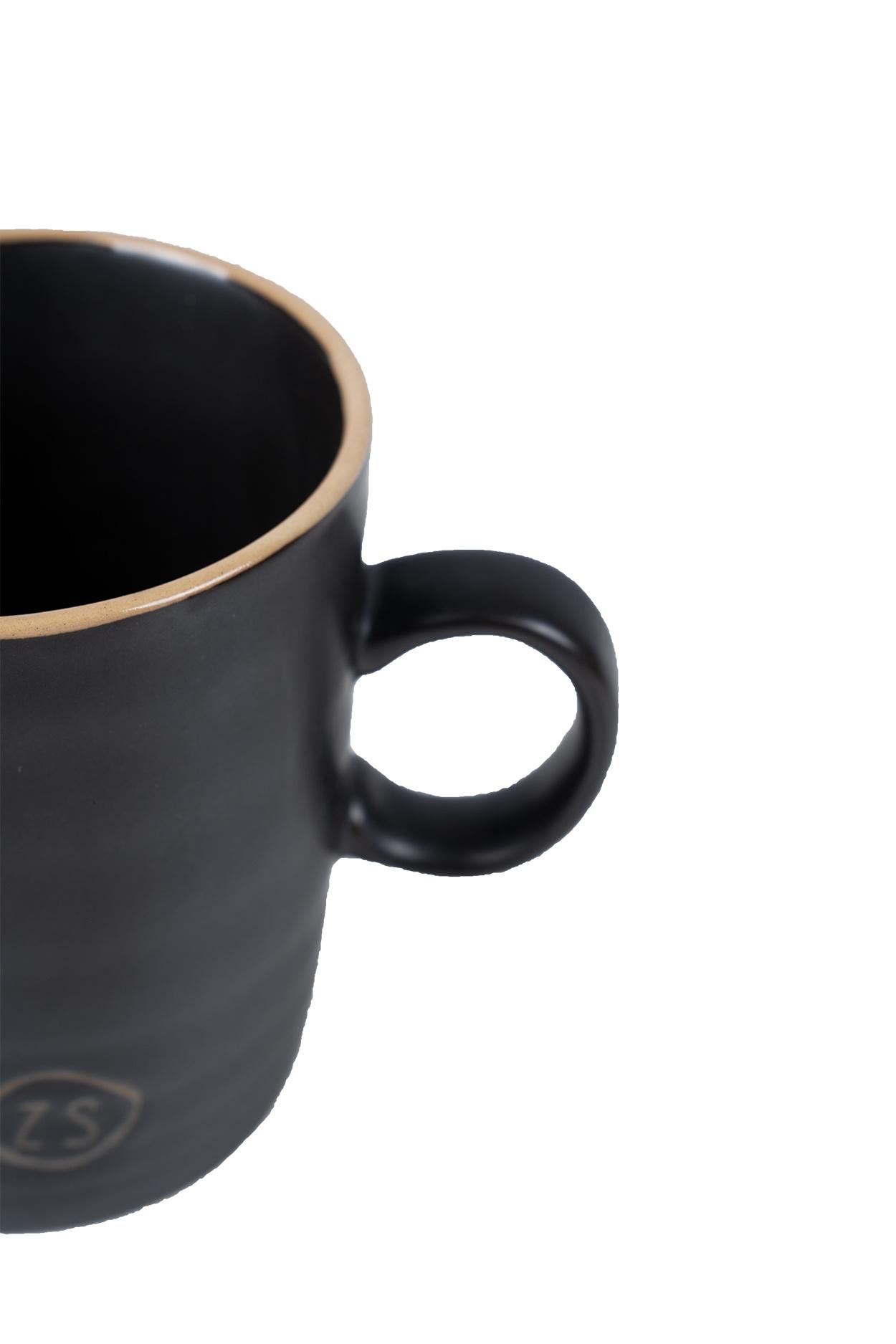 Zusss Theemok aardewerk -  zwart