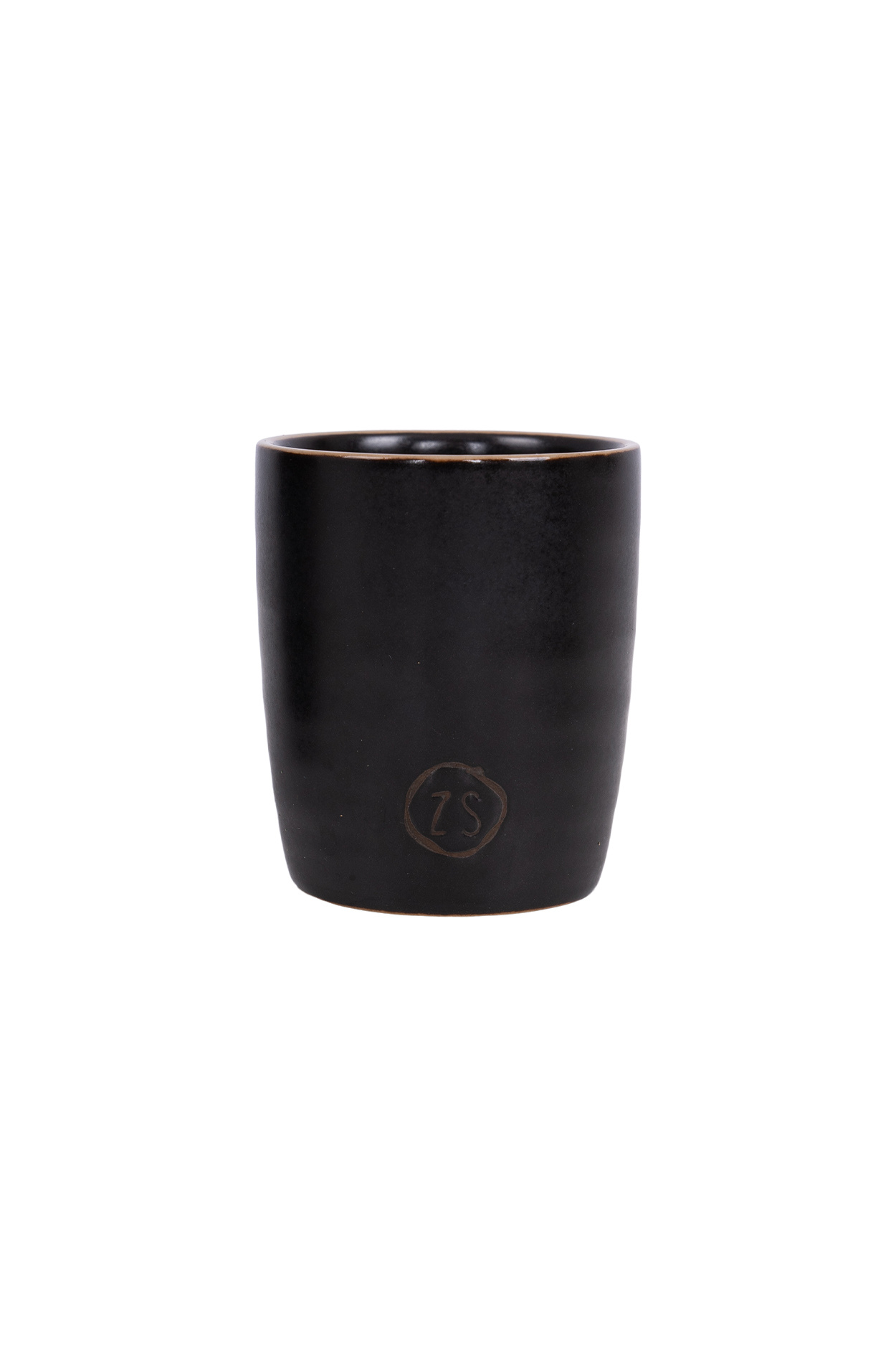 Zusss Espresso kopje aardewerk -  zwart