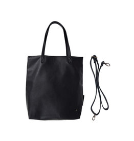 Zusss Basic shopper - zwart