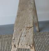 Oud chinees bankje 133cm, bruin