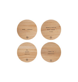 Zusss set houten ondezetters