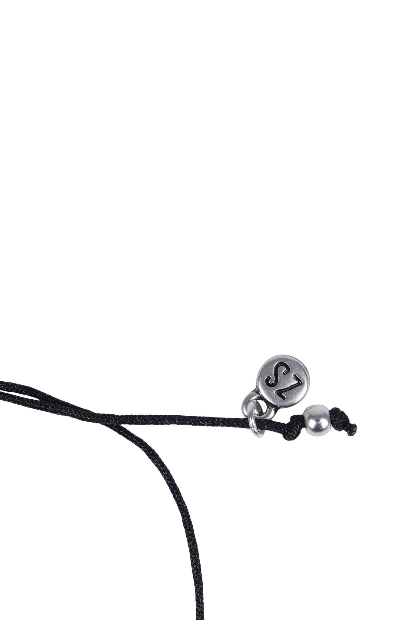 Zusss Initialen armbandje - zilver