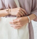 Zusss Armbandje kruisje - zilver