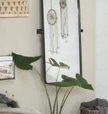 IB Laursen wand spiegel Brooklyn 110x57x7,5cm, zwart