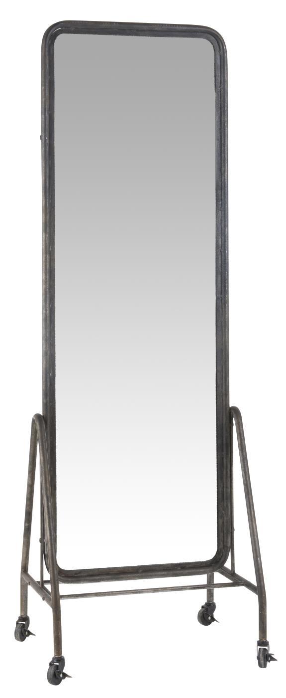 IB Laursen vloer spiegel 48,5x173cm, zwart