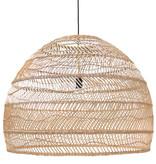 HK Living Wicker hanglamp L - naturel
