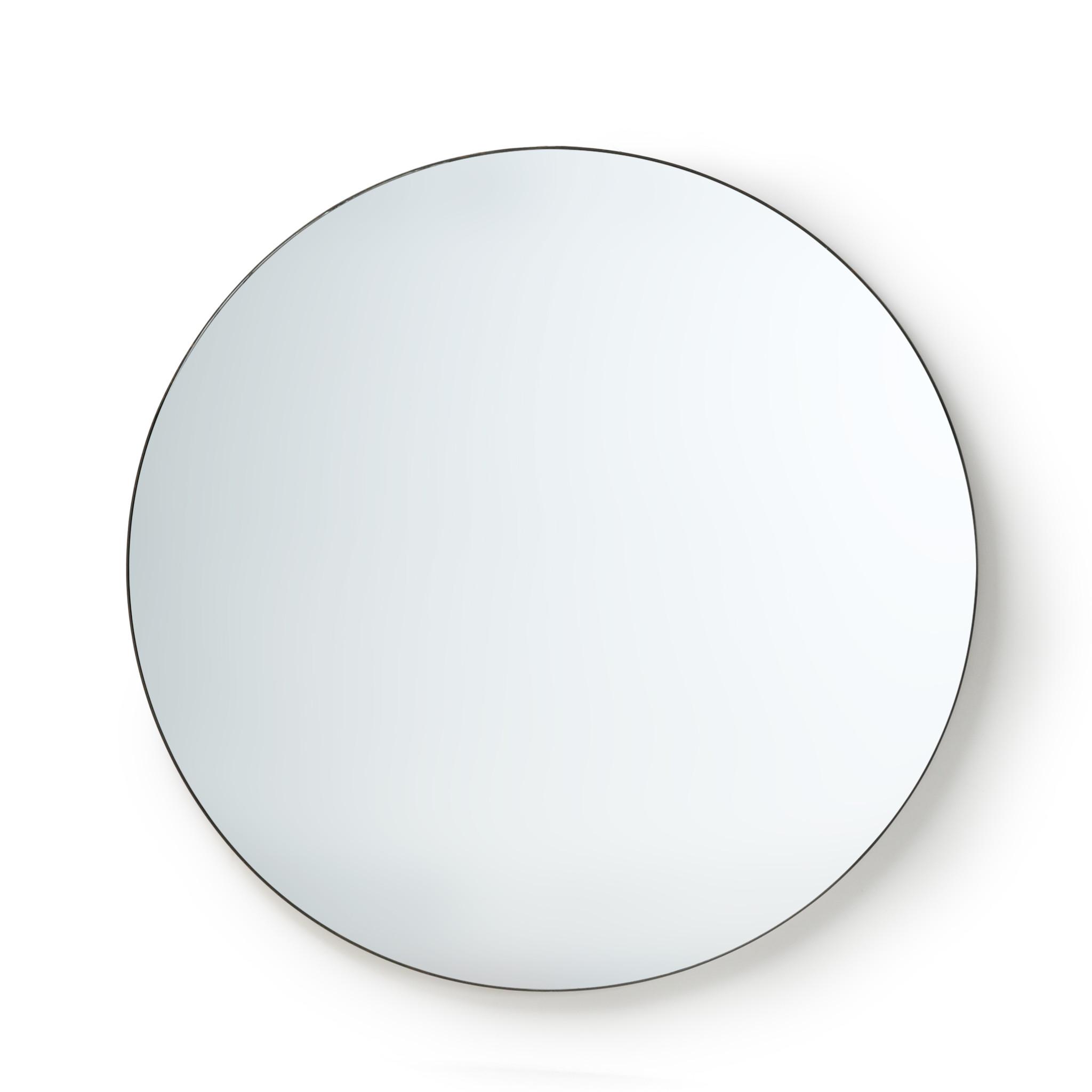 HK Living ronde metalen spiegel 120cm