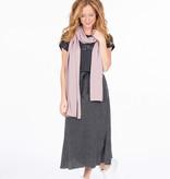 Zusss fijngebreide zachte sjaal - lila