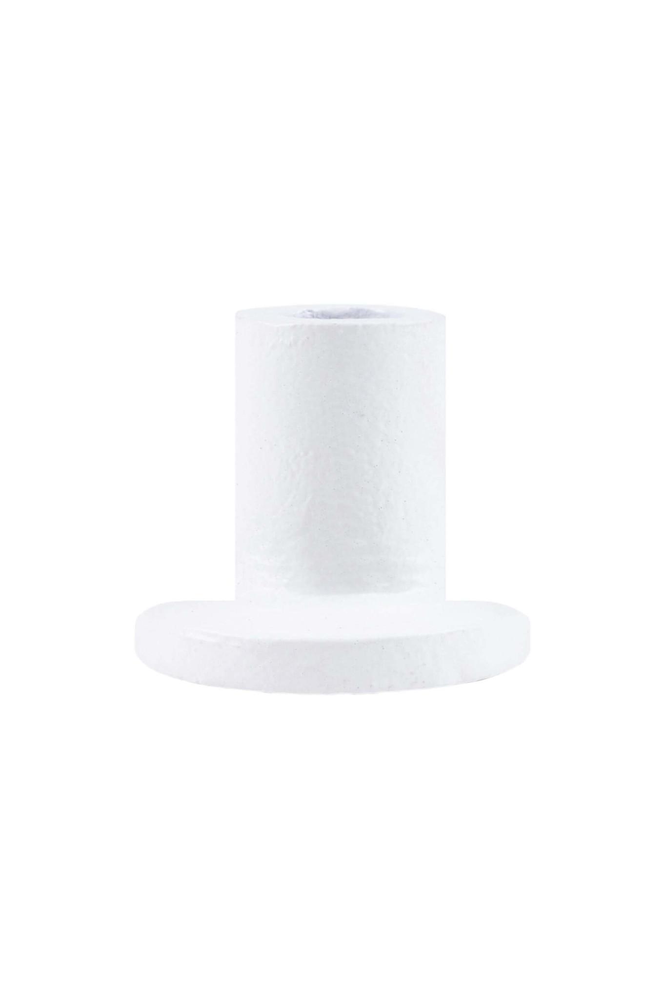 Zusss Lief klein kandelaartje wit