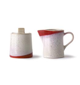 HK Living Melk- en suikerpot FROST set / 2