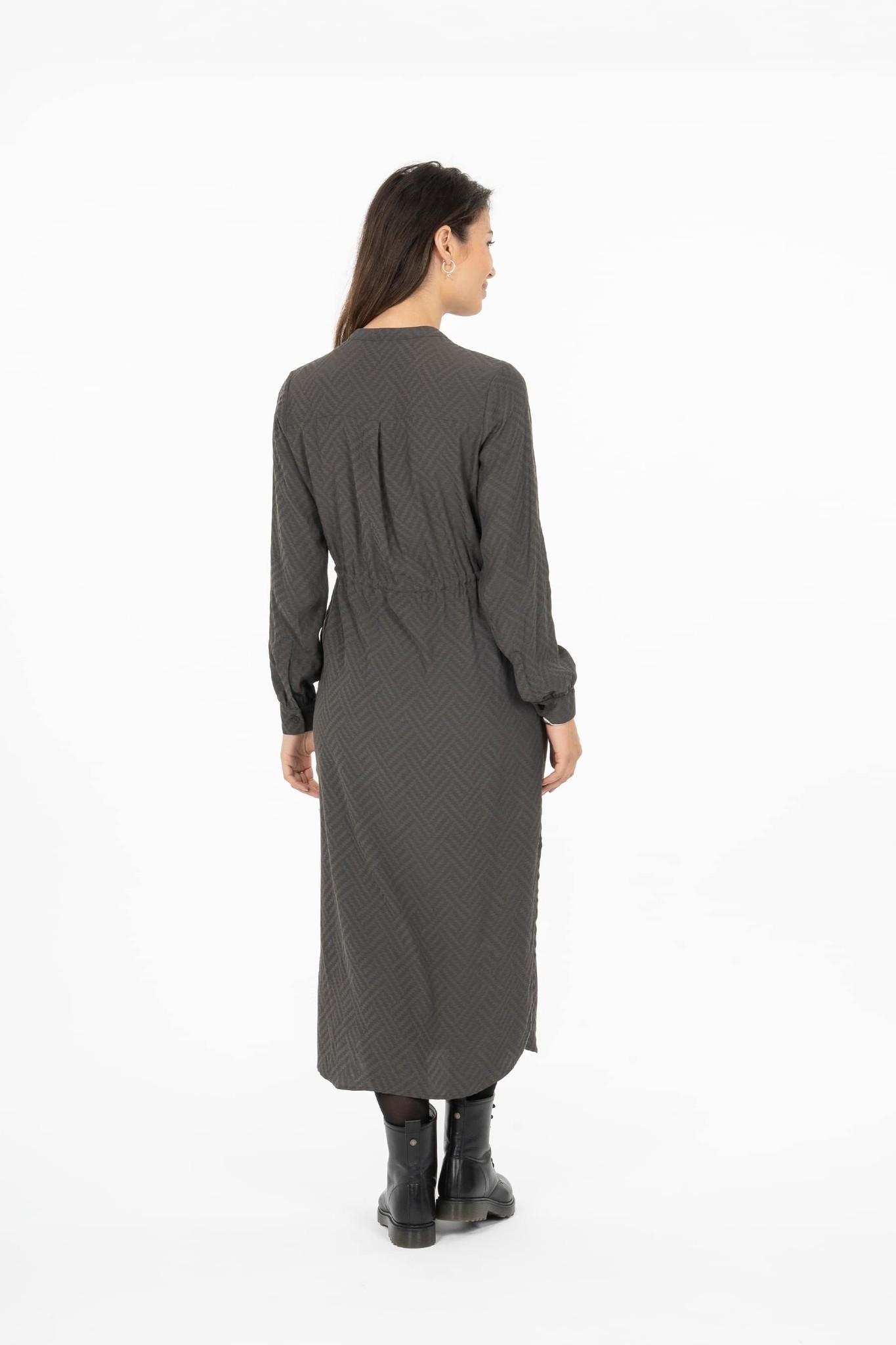 Zusss Hippe jurk - grafietgrijs