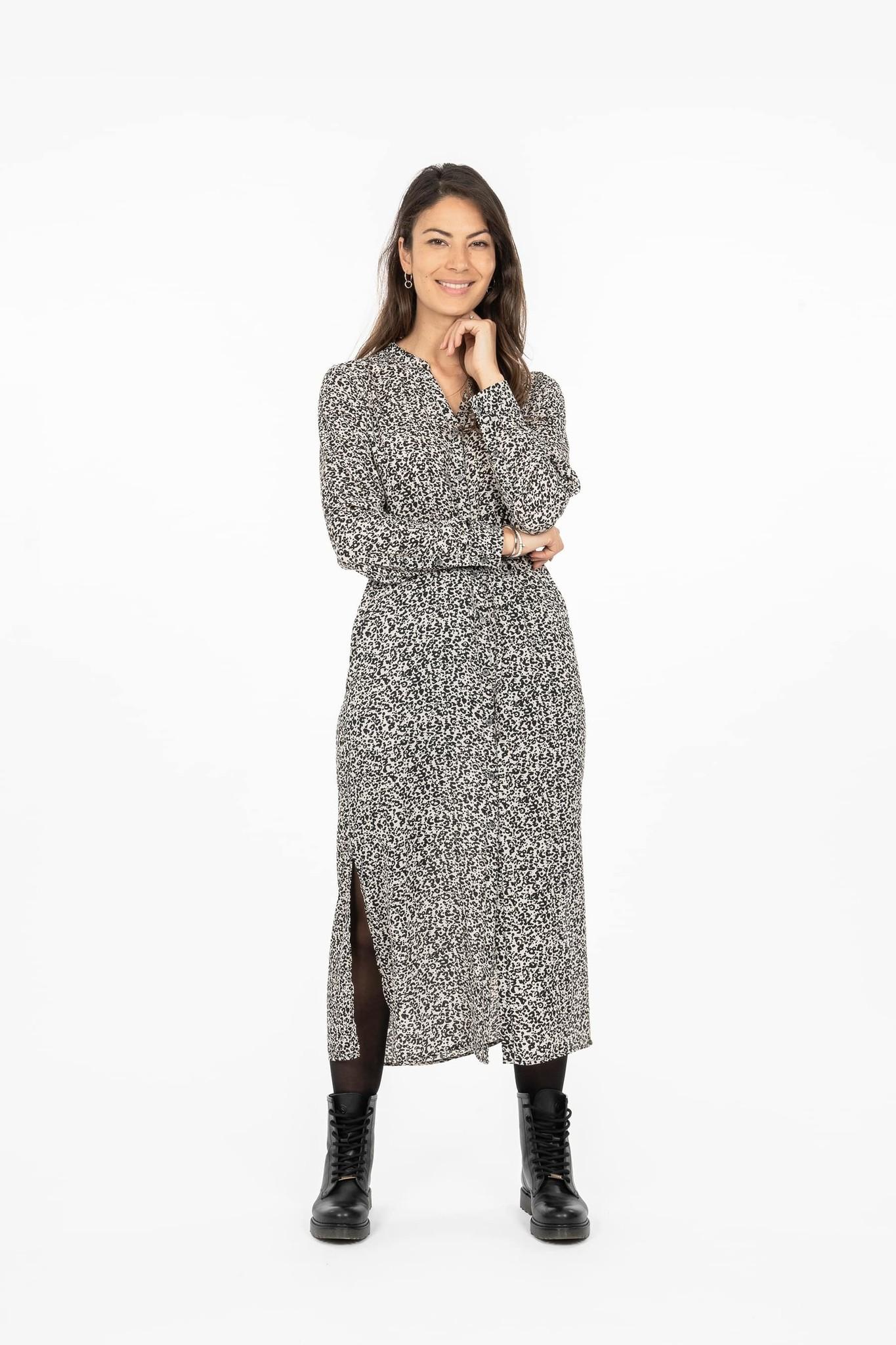Zusss Hippe jurk - zand