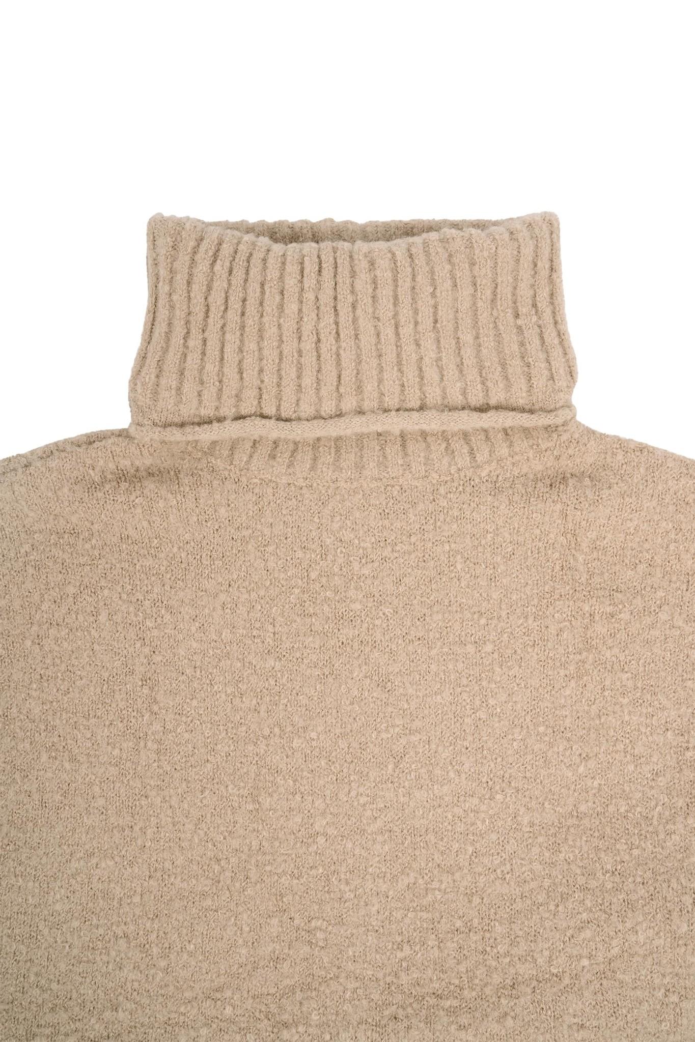 Zusss warme coltrui - zand