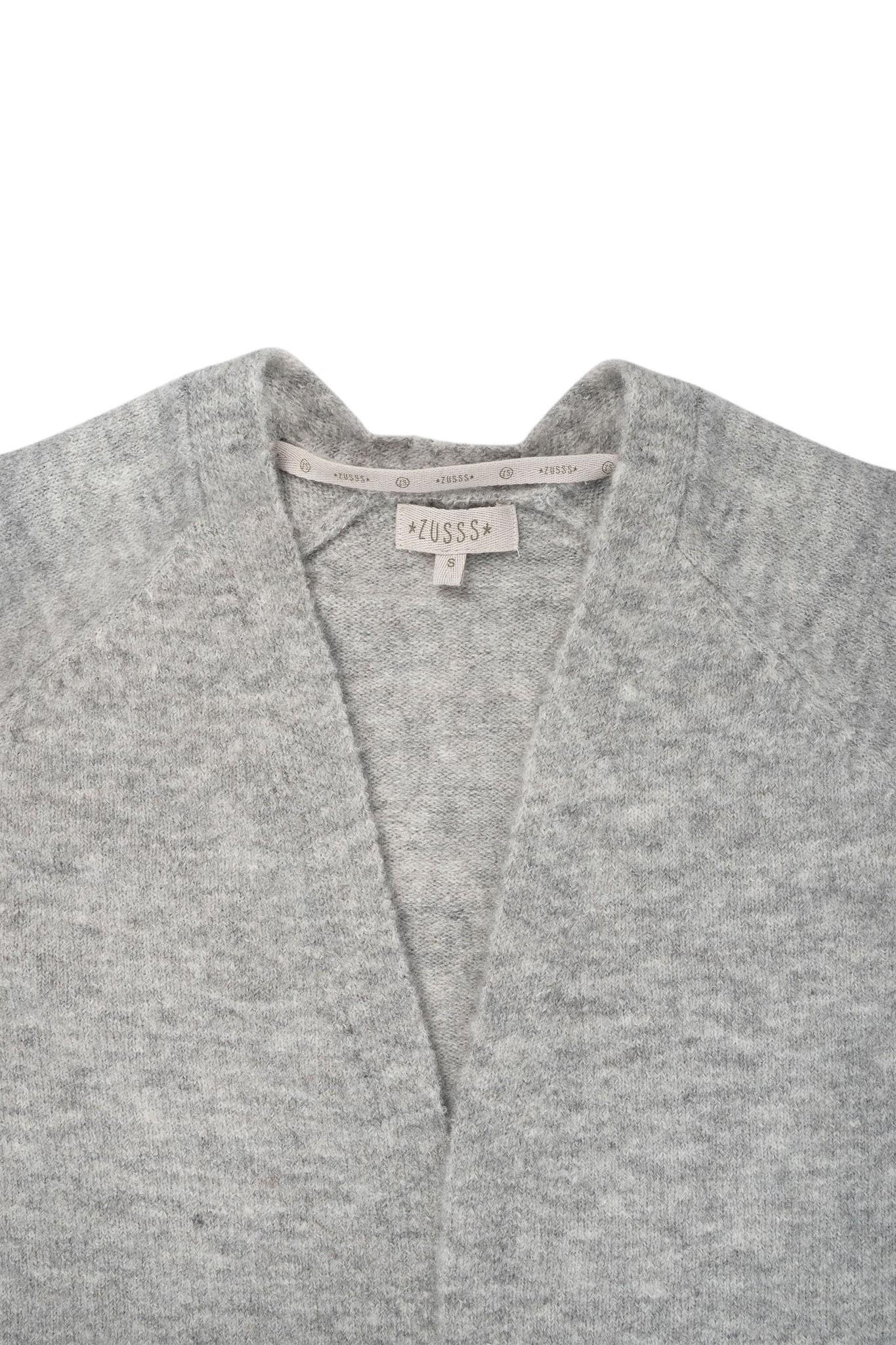 Zusss Simpel vest - mist