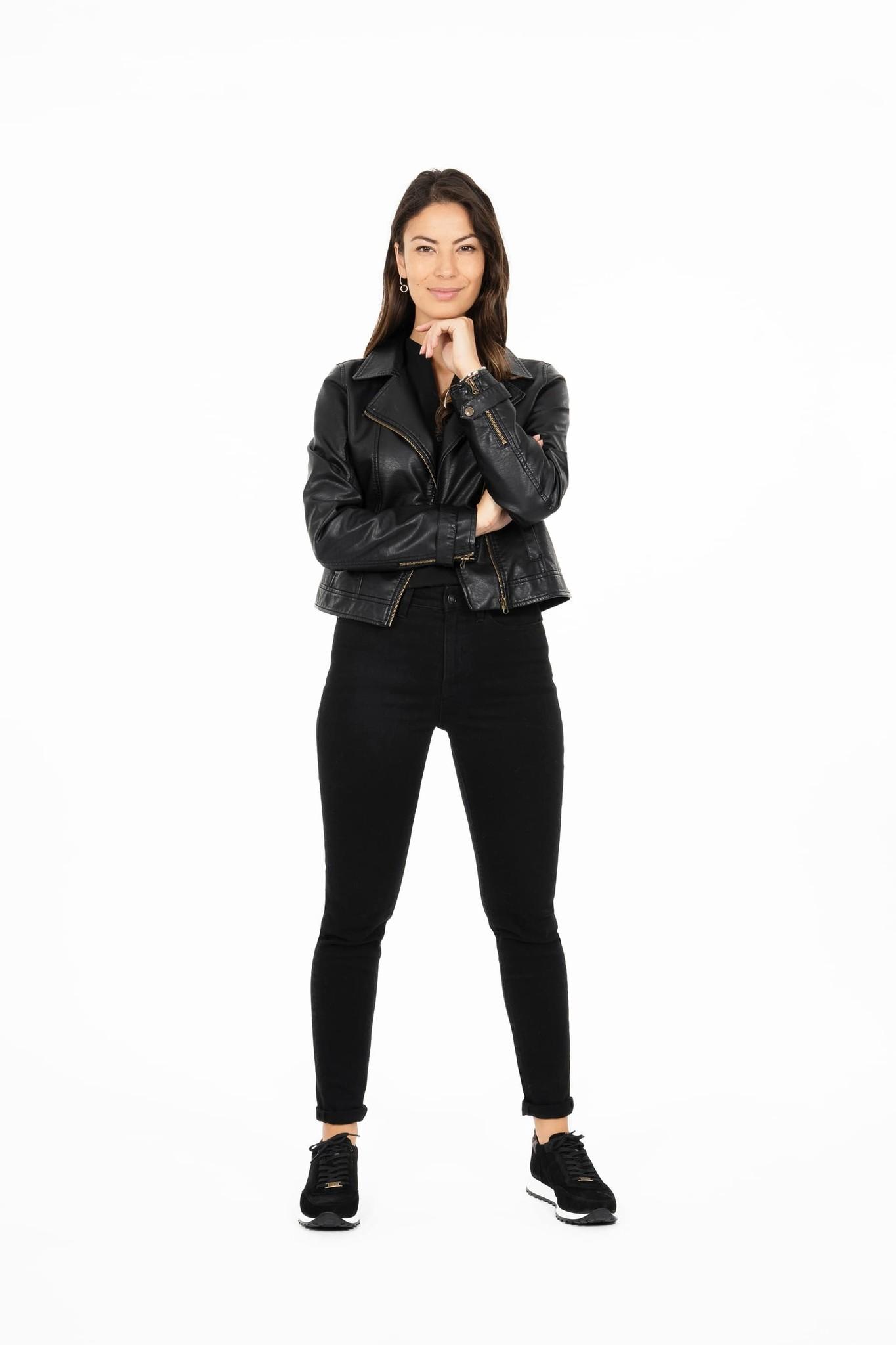 Zusss Stoere biker - zwart
