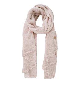 Zusss warme brei sjaal - poederroze