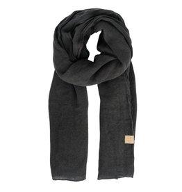 Zusss basic sjaal - grafietgrijs