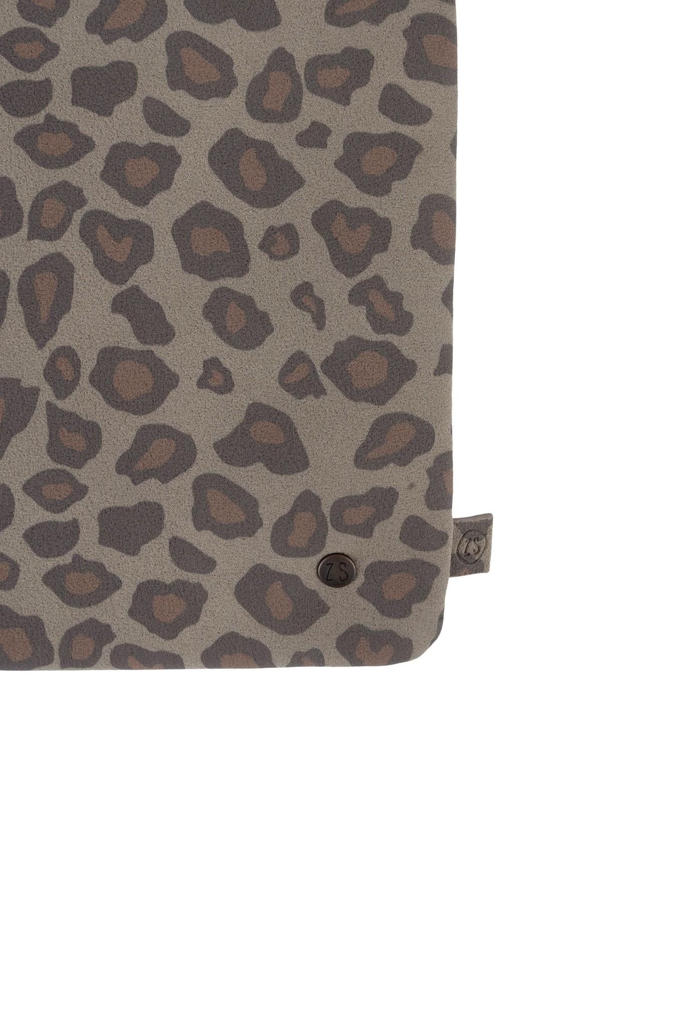 Zusss dubbel tasje - leopard