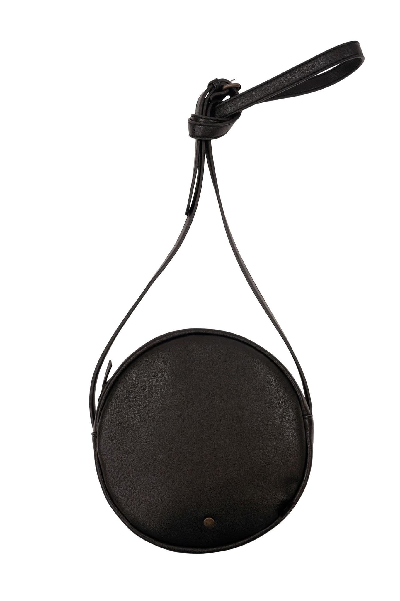 Zusss Kekke ronde tas - zwart