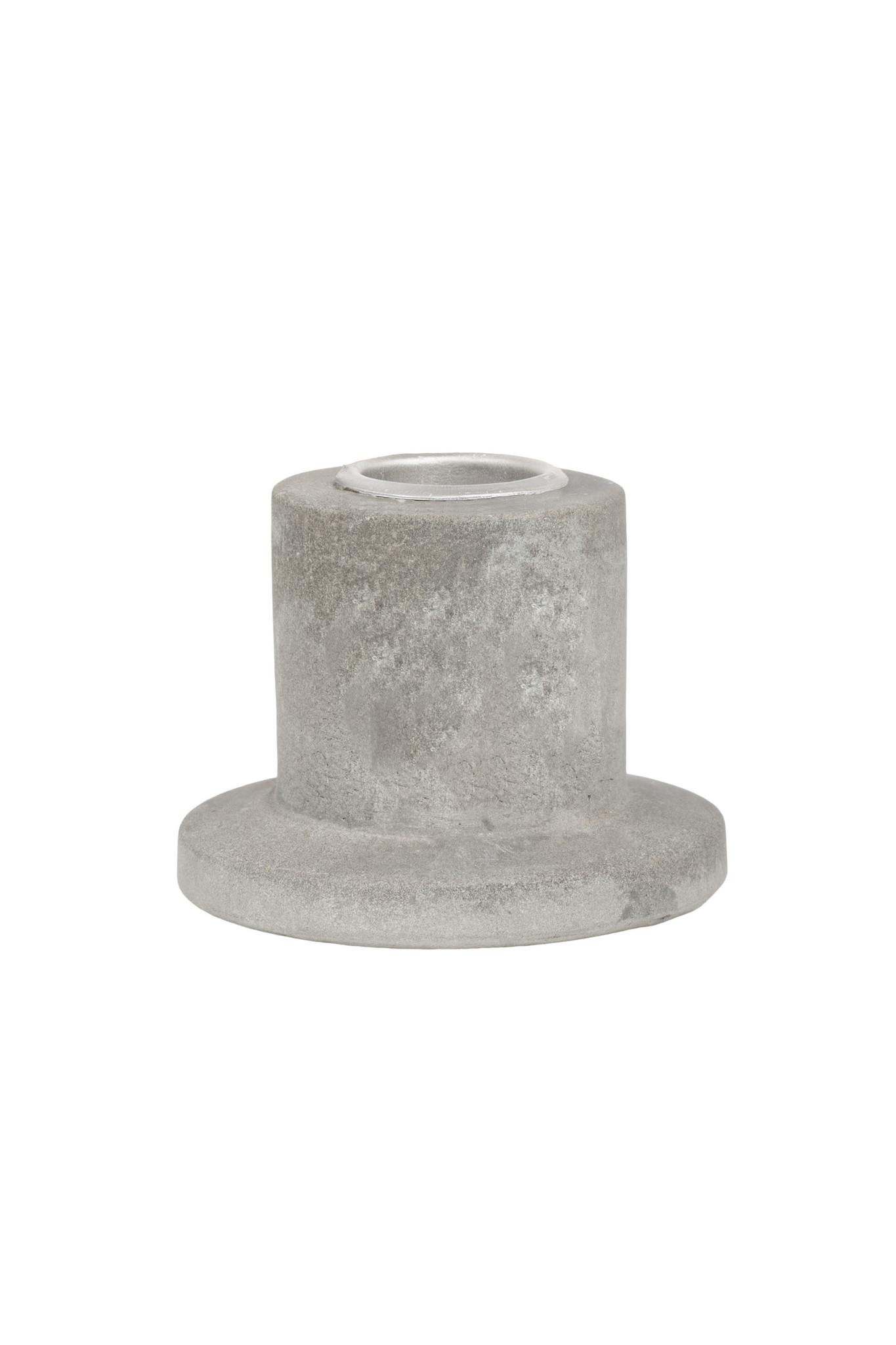 Zusss klein kandelaartje beton