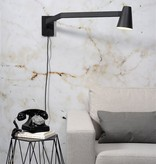 It's about RoMi Biarritz wandlamp - zwart