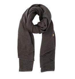Zusss warme brei sjaal - grafietgrijs