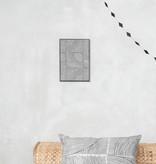 Zusss Schilderij - grafische patroon