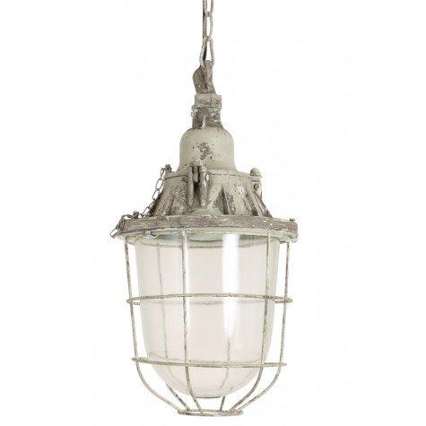Hanglamp 'Quarry' L, 22x35cm grijs