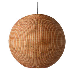 HK Living Bamboe hanglamp L - bruin
