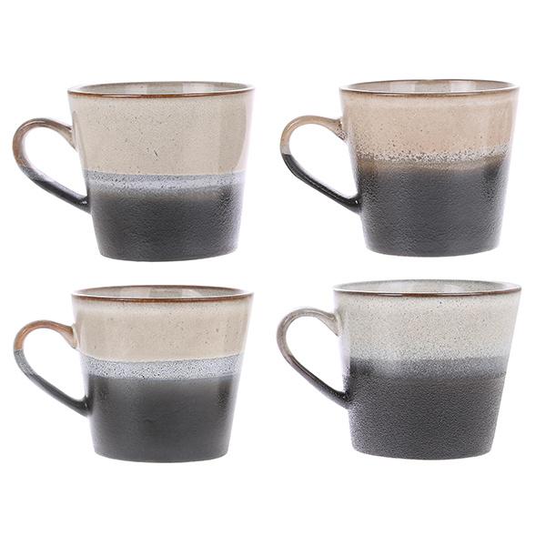 HKliving cappuccino mok ROCK
