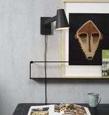 It's about RoMi Biarritz wandlamp Small - zwart