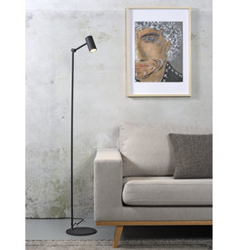 It's about RoMi Montreux vloerlamp - zwart