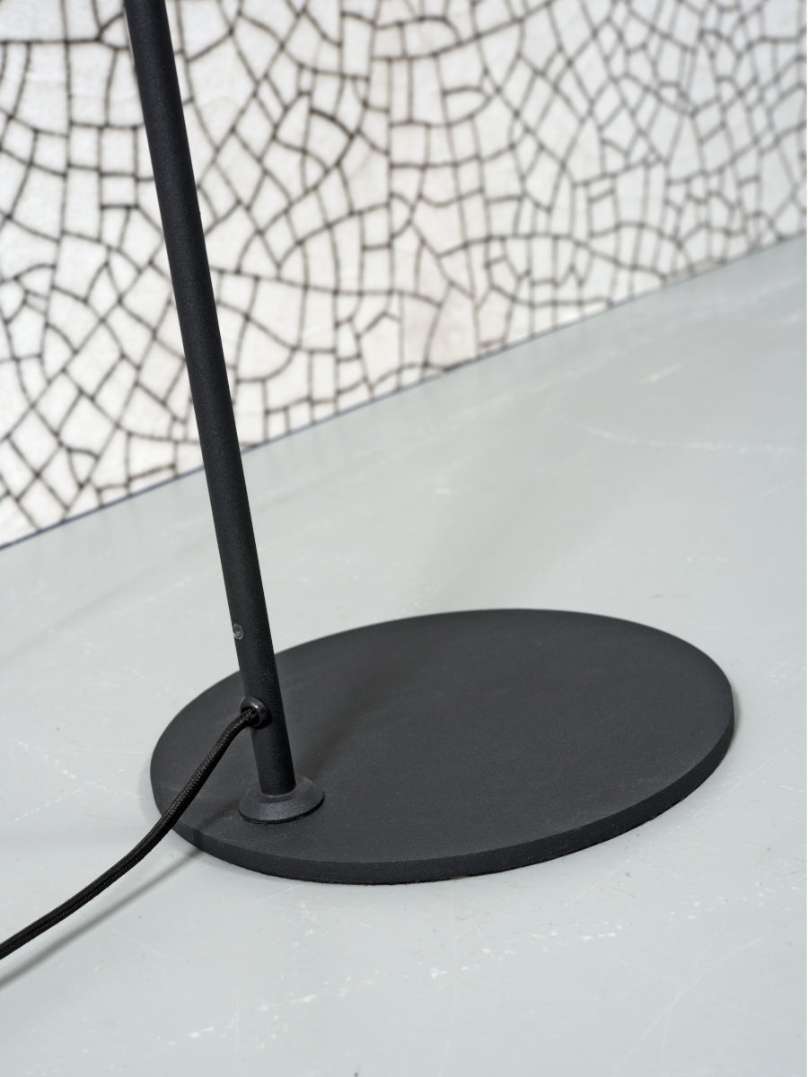 It's about RoMi Montreux vloerlamp - zwart