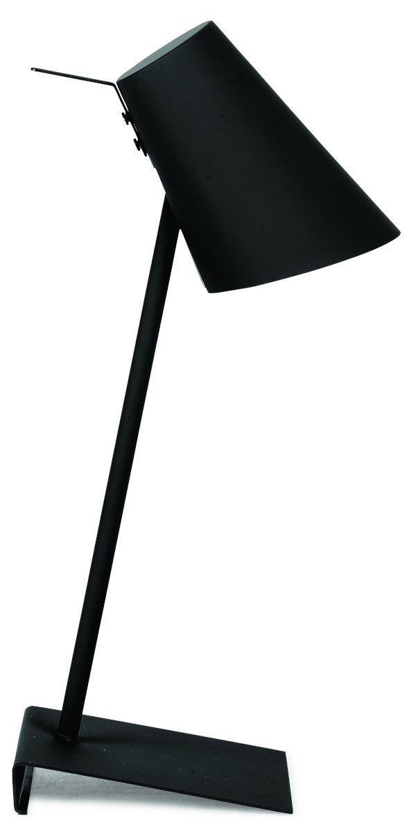 It's about RoMi Cardiff tafellamp - zwart