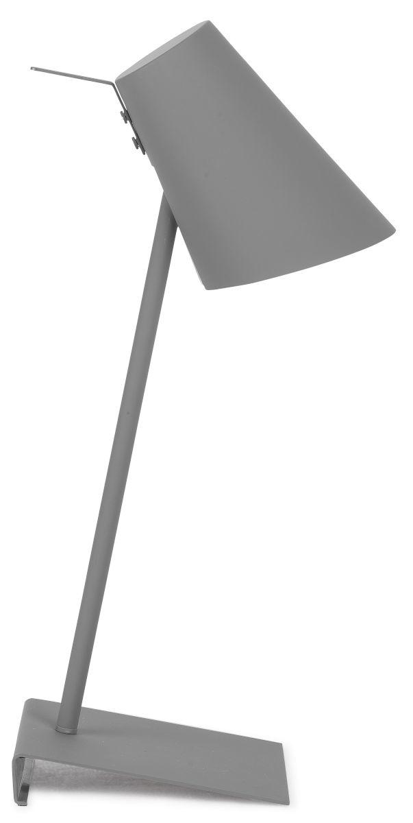 It's about RoMi Cardiff tafellamp - grijs