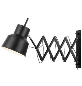 It's about RoMi Belfast wandlamp - zwart
