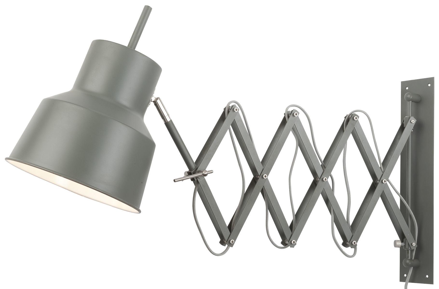 It's about RoMi Belfast wandlamp - groen/grijs