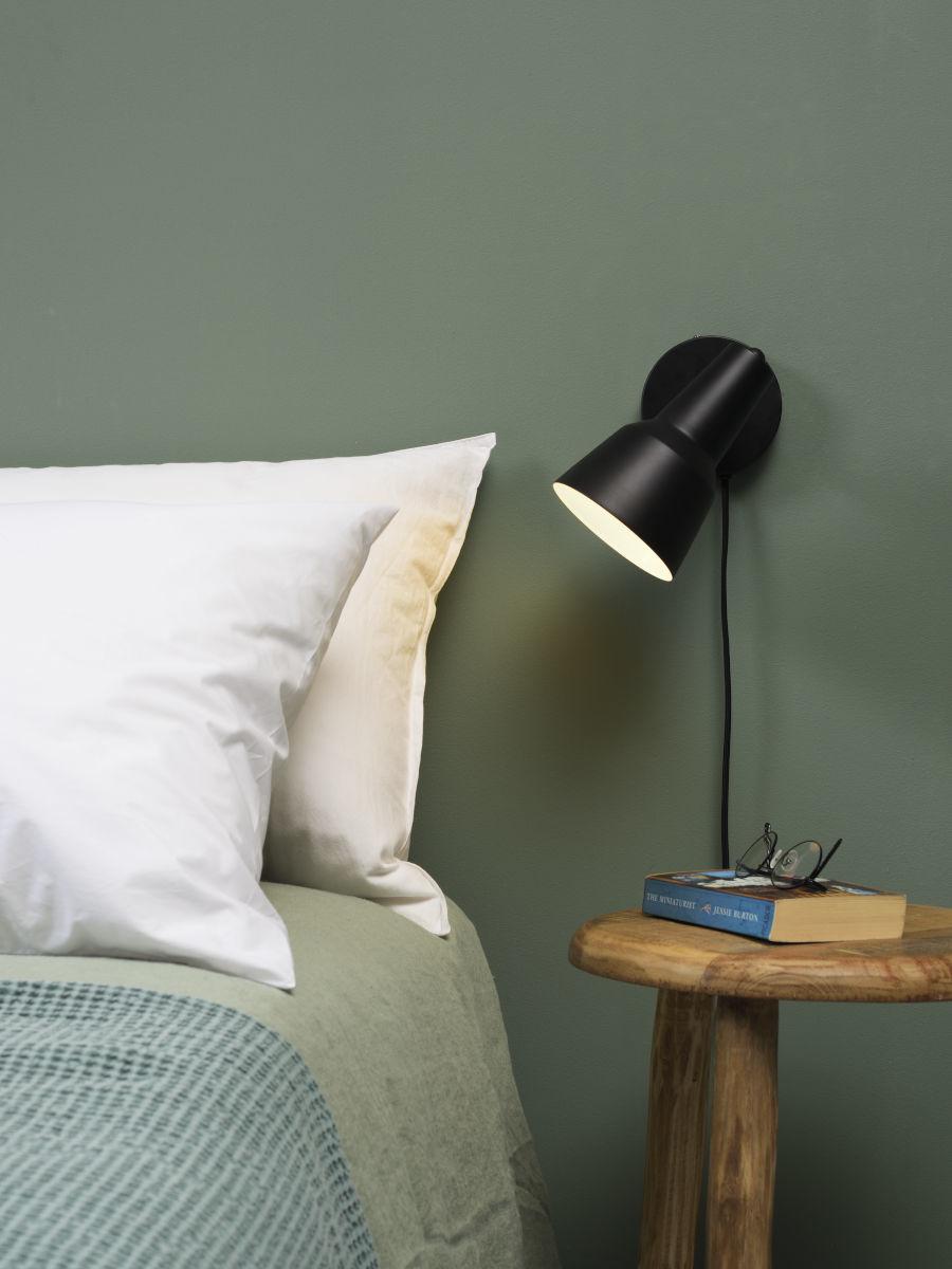 It's about RoMi Valencia wandlamp - zwart