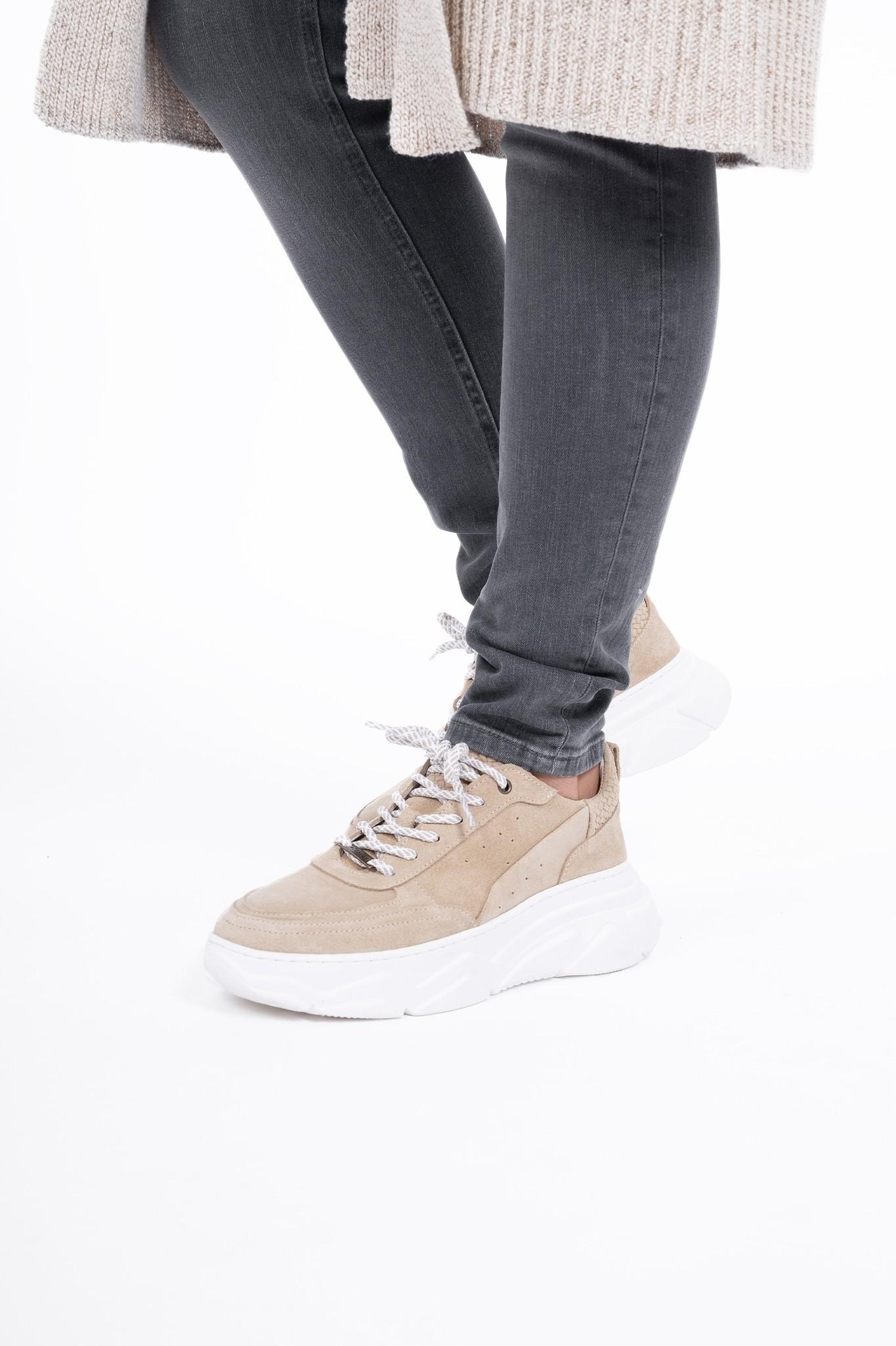 Zusss Gave sneaker - zand