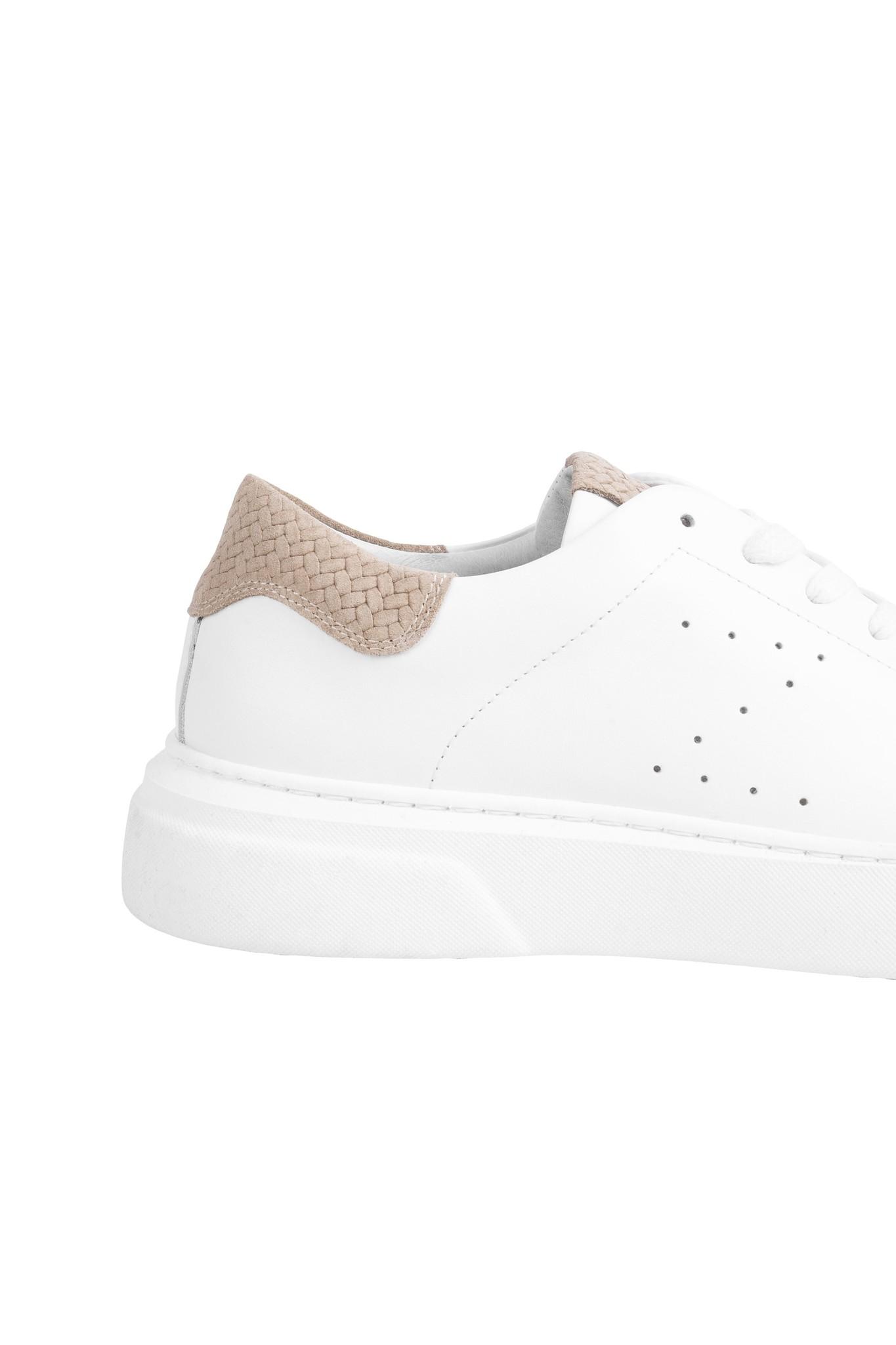 Zusss Toffe sneaker - wit/zand