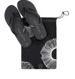 Zusss slippers ciao bella - zwart