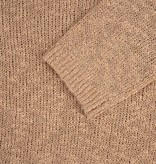 Zusss luchtige gebreide trui - kaki