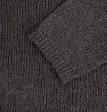 Zusss luchtige gebreide trui - grafietgrijs