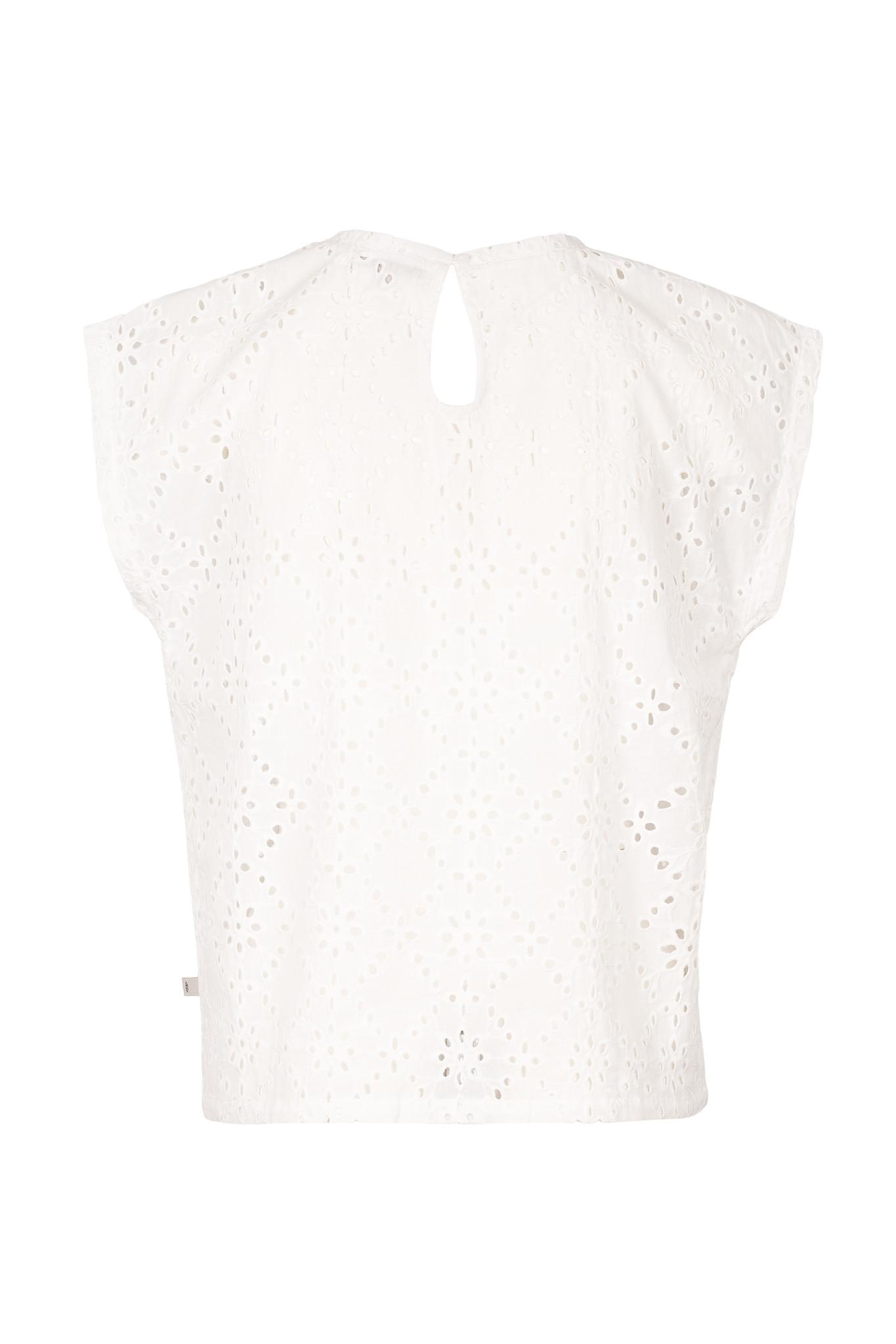 Zusss broderie blouseje - wit