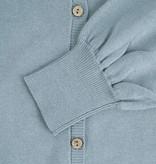 Zusss basic vestje - grijs-blauw