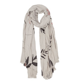 Zusss fijne sjaal - bladprint