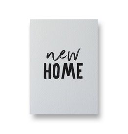 Wenskaart - new home